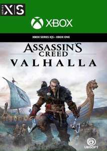 [Xbox One/Series S|X] Assassin's Creed Valhalla - £24.99 @ CDKeys