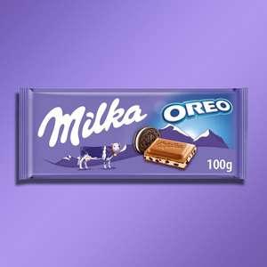 22 X Milka Oreo 100G milk chocolate bars £14 at Yankee Bundles