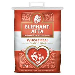 Elephant Atta Chapatti Flour Wholemeal 10Kg £5.50 @ Tesco clubcard price
