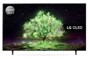 "LG OLED48A16LA 48"" 4K Smart Ultra HD HDR OLED TV w/ Google Assistant & Alexa, 5 yr guarantee £799 w/ code / £743.07 w/ Work perks at Currys"