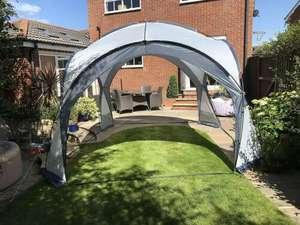 Garden Gazebo Dome Shelter Party Tent 4 Mesh Walls 2 Sun Shade Walls, Size 350 x 350 x 230cm £63.96 @ Gardenstoredirect/Ebay (UK Mainland)
