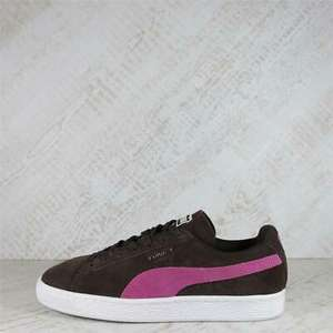 Womens Puma Suede Classic Brown/Pink Trainers £16.99 Delivered bigbrandoutlet2015/eBay