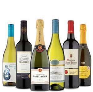 25% off 6 Bottles of Wine, Prosecco & Champagne @ Asda