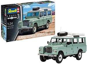 Revell RV07047 1:24 - Land Rover Series III Plastic Model kit, Multicolour, 1/24 - £18.41 (Prime) + £4.49 (non Prime) at Amazon