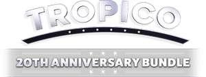 [Steam] Tropico 20th Anniversary Bundle e.g. Tropico 3 Gold Edition - 72p @ Humble bundle