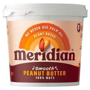 Meridian Smooth Peanut Butter, 1kg - £2.60 in-store @ Sainsbury's, Irvine (Scotland)