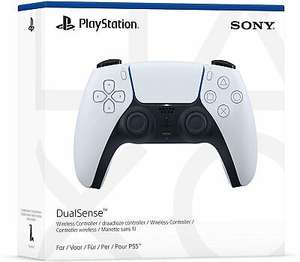 PlayStation 5 DualSense Controller White - £39.99 delivered @ uk-tech-spares/eBay