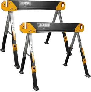 ToughBuilt TOU-C650/2 Adjustable Saw Horse/Trestle Table Twin Pack - £89 delivered @ FFX