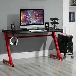 Gaming Desk with Gamepad Holder / Cup Holder / Headphone Hook £39.99 Delivered using code (UK Mainland) @ eBay / mhstarukltd