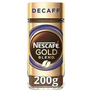 Nescafé Gold Blend/Decaff Instant Coffee 200g - £4 @ Sainsburys