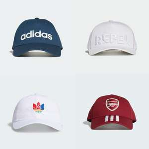 adidas baseball caps from £6.26 (Kids) or £7 (Adults) delivered using unique code @ adidas