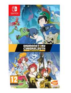 Digimon Cyber Sleuth Complete Edition Nintendo Switch £19.95 - @ The Game Collection
