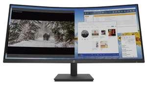 "HP M34d UltraWide Quad HD (3440x1440) 34"" USB C Curved Monitor £399 at Currys PC World"
