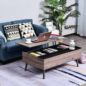 Coffee Table Desk with Lift Up Top Design £51.99 Delivered using code (UK Mainland) @ eBay / mhstarukltd