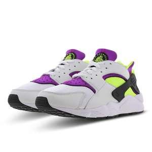 Nike Huarache Men Shoes White-Neon Yellow-Magenta £59.99 Foot Locker