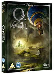 OZ The Great & Powerful Blu-Ray £3.22 (+£2.99 non-prime) @ Amazon