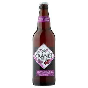 Cranes cider 3 x 500ml bottles for £5 (£2.50 after Checkout Smart cashback) at Morrisons