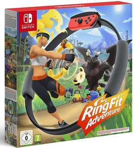Ring Fit Adventure (Nintendo Switch) - £46.90 (£42.50 with Account Specific Code) delivered (UK Mainland) @ Amazon Spain
