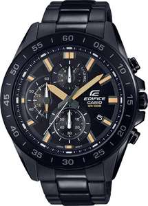 Casio Men's Edifice Chronograph Black Bracelet Watch, £59.99 (Free click and collect) at Argos