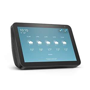 Echo Show 8 (1st Gen, 2019 release) – Smart Display with Alexa – Charcoal £64.99 Delivered @ Amazon