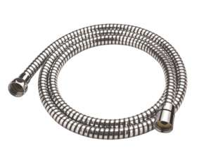 Cooke & Lewis PVC Shower Hose Chrome (Black 7.5mm x 1.5m) - £2.99 (Free click and collect) at Screwfix