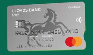 Lloyds Bank Cashback Credit Card - Earn upto 0.5% Cashback + (£20 Bonus Cashback with £1,000 of purchases within first 90 days)