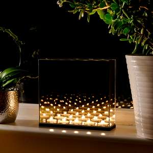 Infinity Mirror Tealight Candle Box £15.98 with code @ ROOV