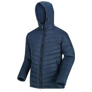 Men's Volter Loft Insulated Quilted Hooded Heated Walking Jacket Nightfall Navy £31.96 + £3.95 Delivery with code @ Regatta