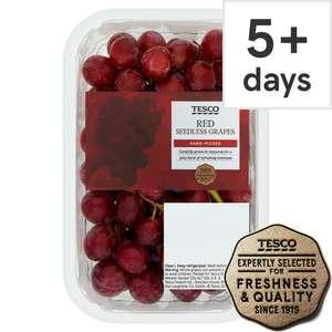 Tesco Red Seedless Grapes 500G 99p /Gala Apple Minimum 5 Pack 69p / British Maris Piper 1.25Kg 49p / Red Grapefruit 29p (Clubcard) @ Tesco