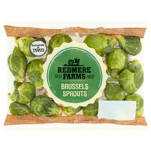 Redmere Farms Brussels Sprouts 300G 57p at Tesco