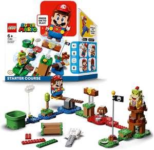 LEGO Super Mario Bundle (Choose Mario or Luigi starter pack, 4 expansion packs and 7 power up suits) for £61.99 delivered using code @ Zavvi