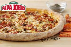 2 Large Papa Johns pizza £9.99 collection + 50p Admin fee, £12.99 delivered. Limited locations. @ Wowcher