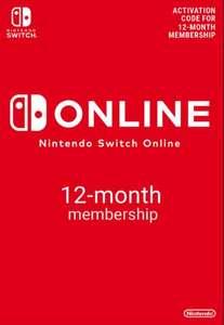 Nintendo switch online 12 months £13.99 at CDKeys