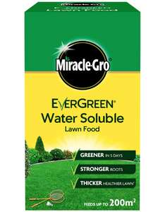 Miracle-Gro 11149 Water Soluble Lawn Food 1 kg £2.50 prime + £4.49 non prime @ Amazon