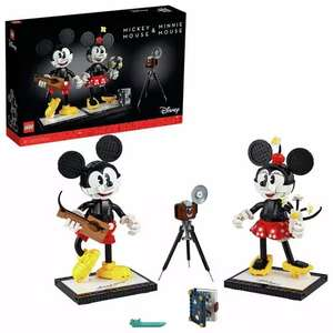 LEGO Disney Mickey and Minnie Mouse Figures Playset 43179 - Free Click & Collect - Price in Basket @ Argos