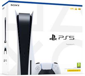 Sony PlayStation 5 Console - £449.99 - Free reserve and collect @ Argos (Limited Stores)