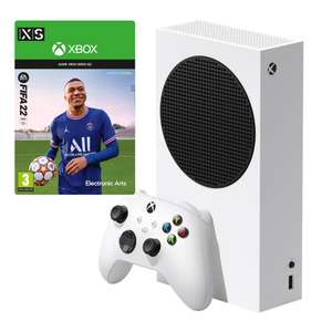 Xbox Series S 512GB + FIFA 22 Digital £249.99 (+ Extra Controller £289.99) @ GAME
