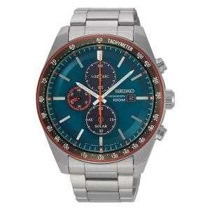 Seiko Solar Powered Chronograph Bracelet Watch - £210 @ James Porter