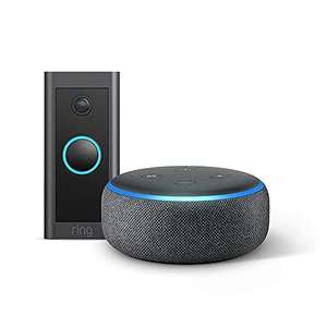 Ring Video Doorbell Wired by Amazon + Echo Dot (3rd Gen) £44 delivered at Amazon