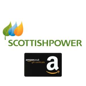 Up to £130 Amazon Voucher + £75 Naked Wines Voucher when you switch to a fixed energy tariff @ Scottish Power