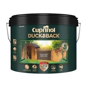 Cuprinol 5 year ducksback Harvest Brown Fence & shed Treatment 9L - £6.50 instore @ Wilko, Kenilworth