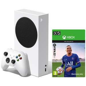 Xbox Series S Console with 2 Year Warranty [EU Plug] + FIFA 22 Digital Code £237 delivered @ Microsoft Store Switzerland