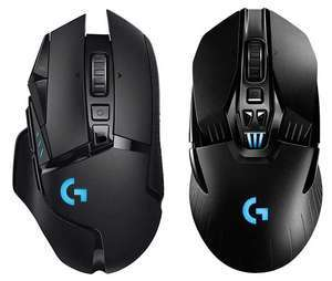 LOGITECH G903 HERO Lightspeed Wireless RGB Gaming Mouse / LOGITECH G502 Lightspeed Wireless Optical Gaming Mouse £58.79 each @ Amazon