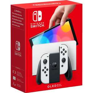 Nintendo Switch OLED Model 64GB - White £309.00 or £289.00 with new accounts code @ AO