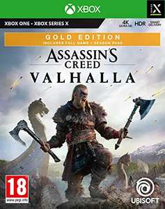 Assassin's Creed Valhalla Gold Edition (Xbox Series X, Xbox One) - £42.99 delivered @ Base