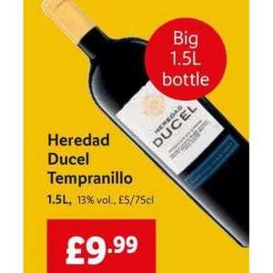 Magnum Bottles of Spanish Baturrica Gran Reserva Wine 1.5L or Heredad Ducel Tempranillo Wine 1.5L - £9.99 each @ LIDL