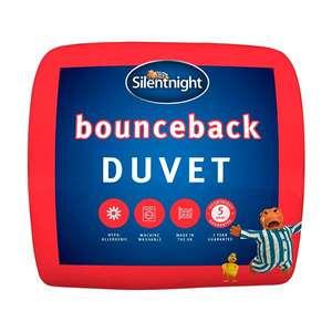 Silentnight Bounceback Duvet 10.5 tog King - £15.03 free click and collect @ Homebase + similar other duvets (see links)