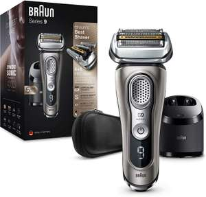 Braun Series 9 9385cc Latest Generation Electric Shaver Clean and Charge Station - £229.99 @ Amazon