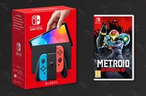 Nintendo Switch OLED and Metroid Dread - £329 @ Tesco Hermiston Gait Edinburgh store