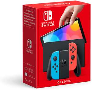 Nintendo Switch Console (OLED Model) with Neon Blue / Neon Red Joy-Con Controllers - £284.64 delivered (1-4 weeks delivery) @ Amazon France